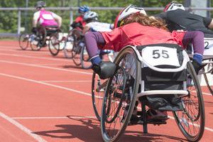 racing wheelchair